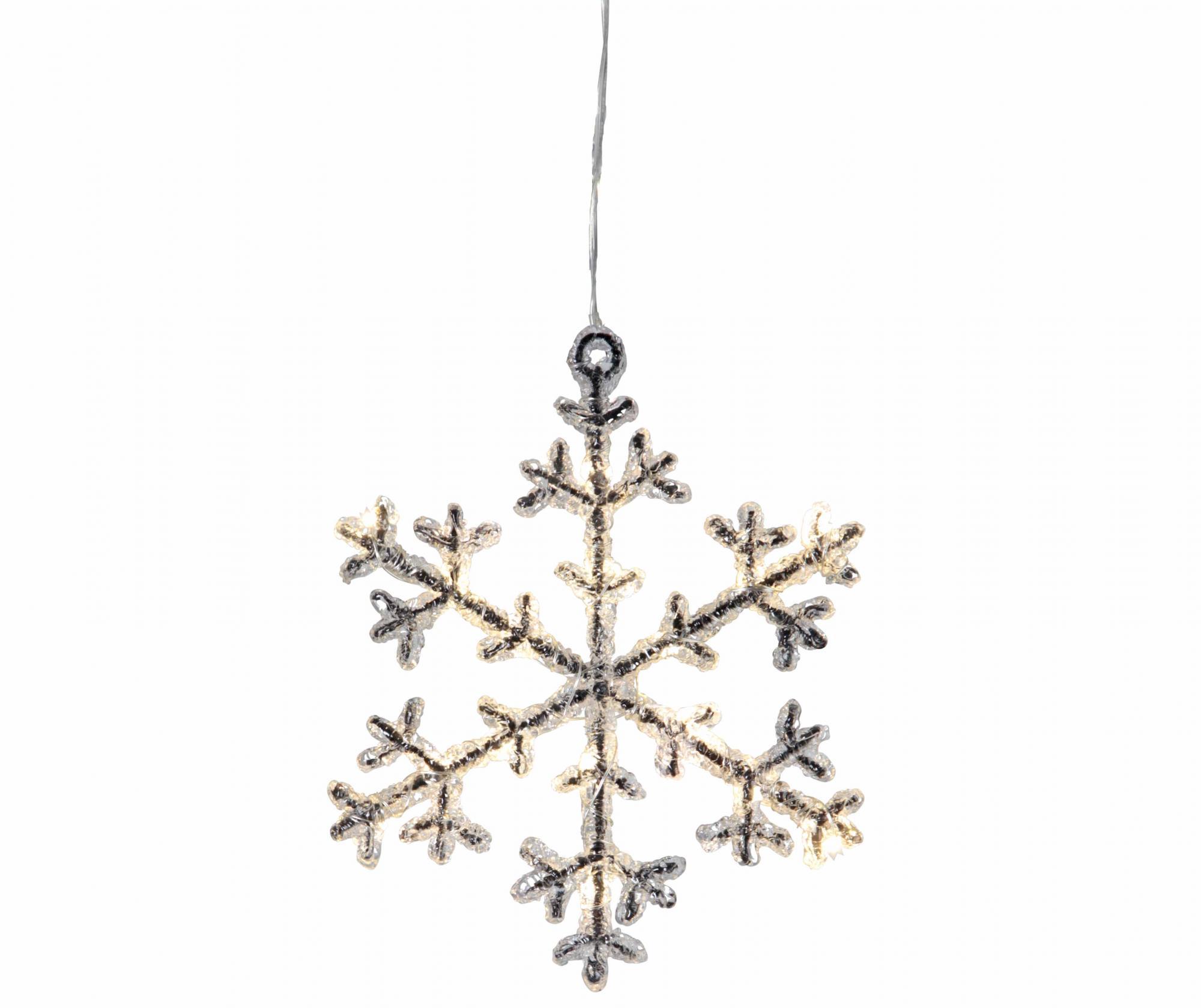 Decoratiune luminoasa suspendabila Snowflakes S