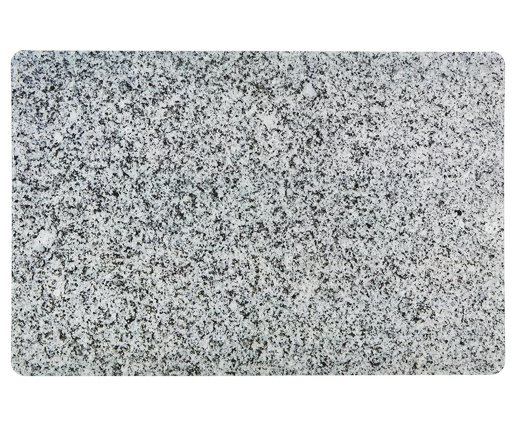 Suport farfurie Dora Light Grey 28.5x43.5 cm