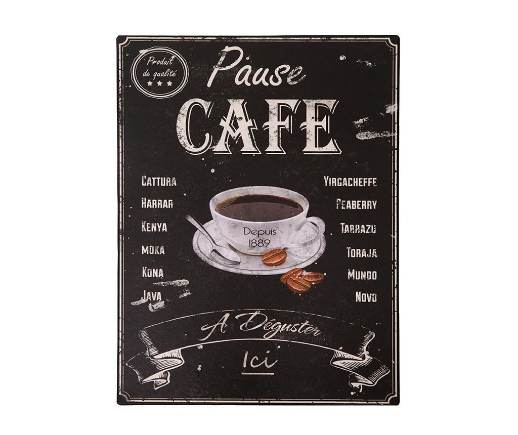 Decoratiune de perete Pause cafe