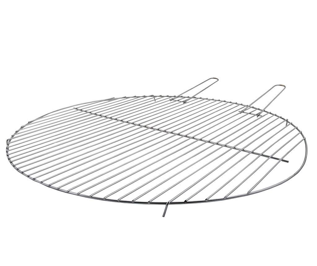 Gratar pentru cosurile de foc Grill - Esschert Design, Gri & Argintiu