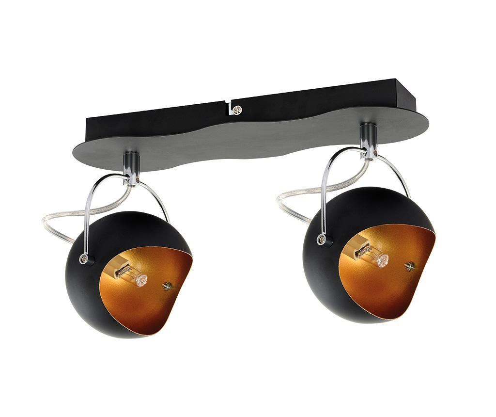 Aplica Kana Double Black Gold - BRITOP Lighting, Galben & Auriu,Negru de la BRITOP Lighting