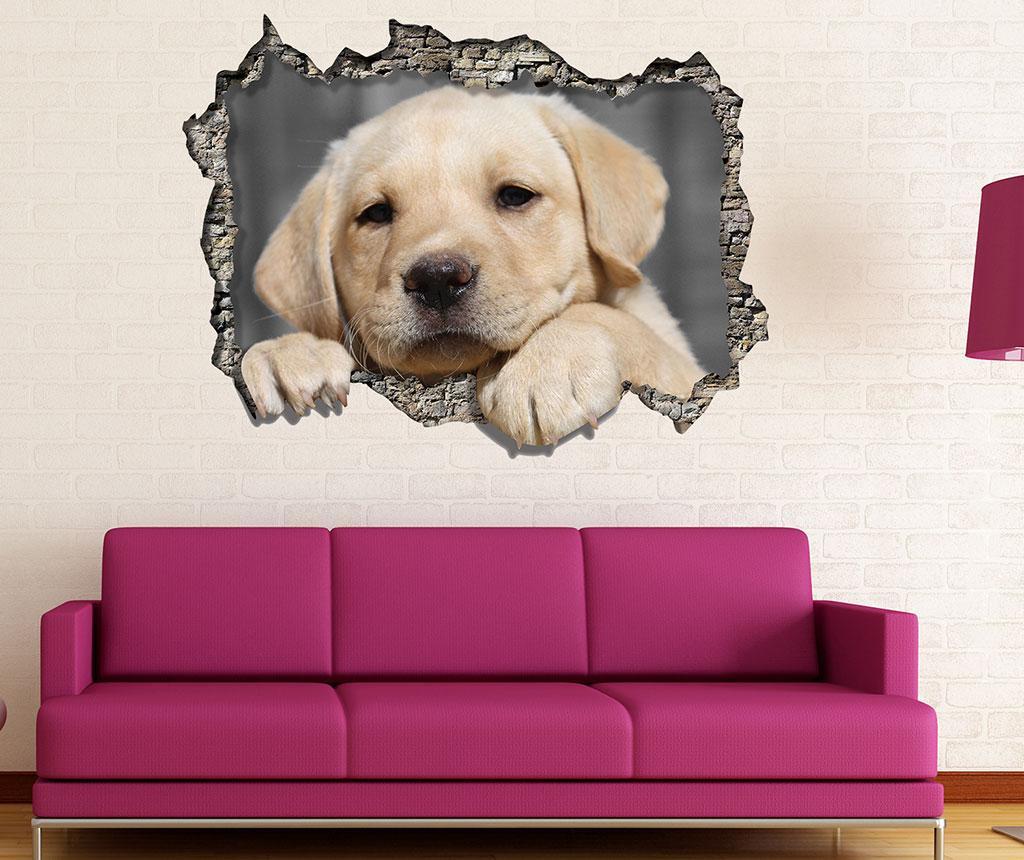 Sticker 3D Puppy imagine