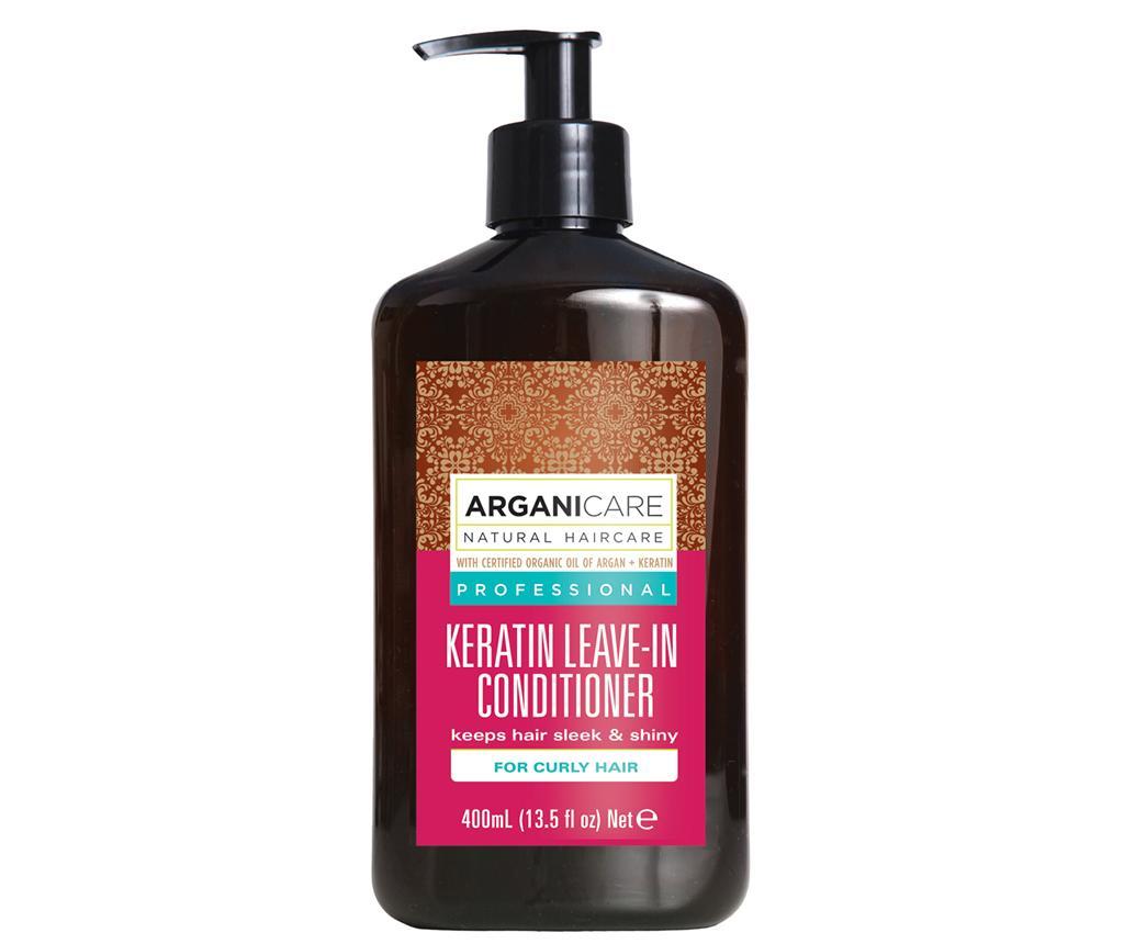 Balsam fara clatire pentru par cret Keratina 400 ml