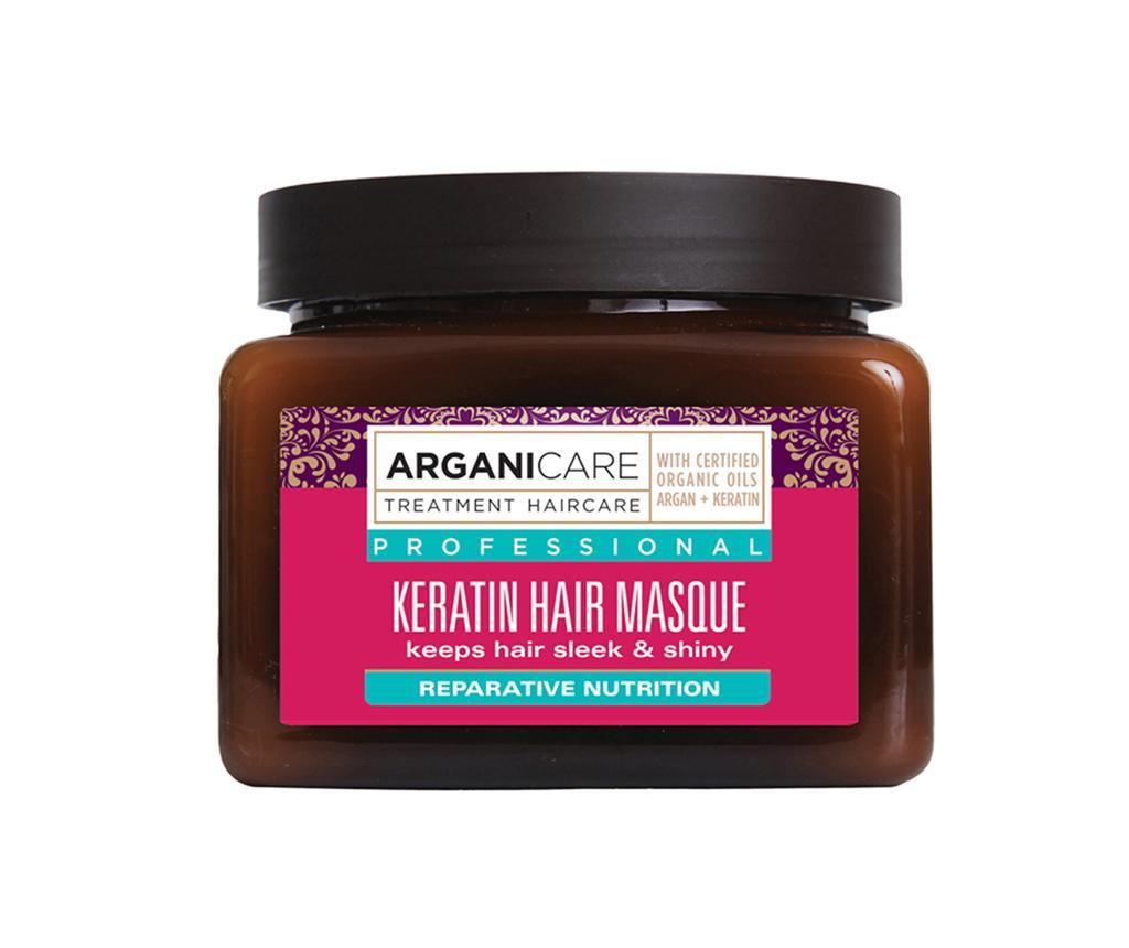 Masca pentru toate tipurile de par Keratina 400 ml