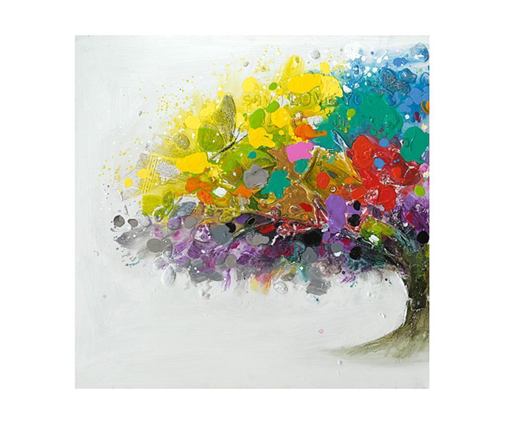 Tablou Colors 100x100 cm vivre.ro