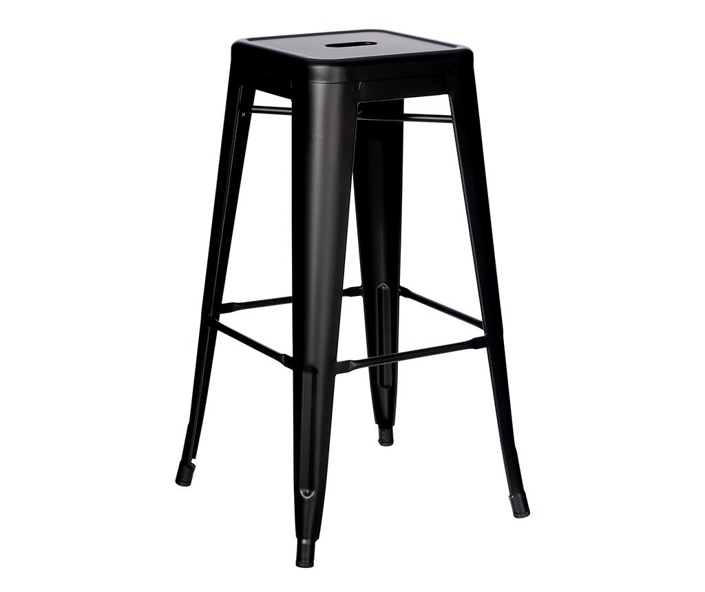 Scaun de bar Dallas Black S - Ixia imagine