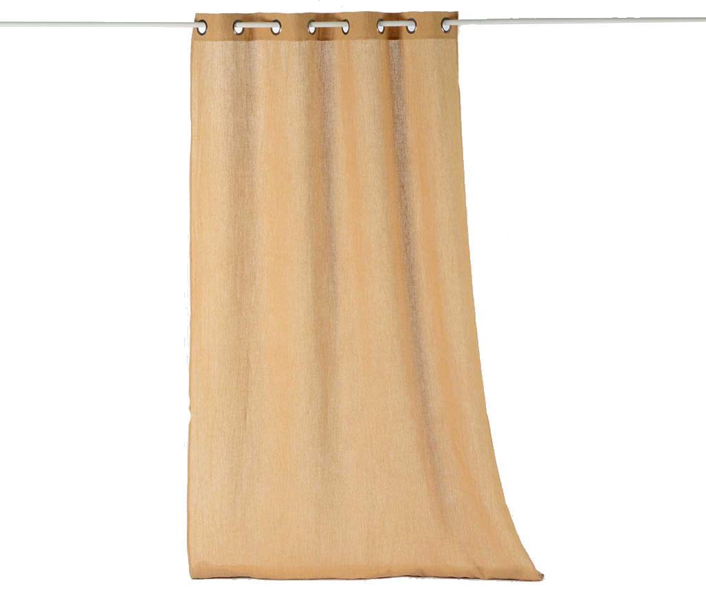 Perdea Washed Style Beige 135x300 cm
