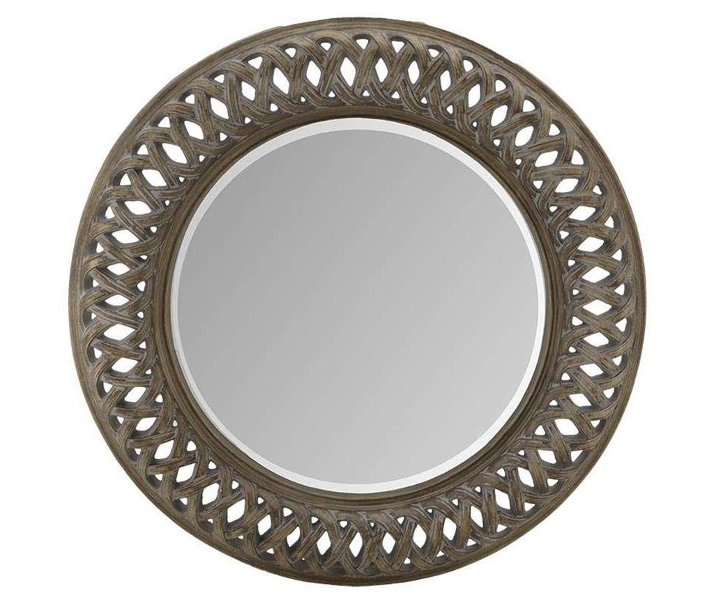 Oglinda Antique Like Brown - inart, Maro imagine