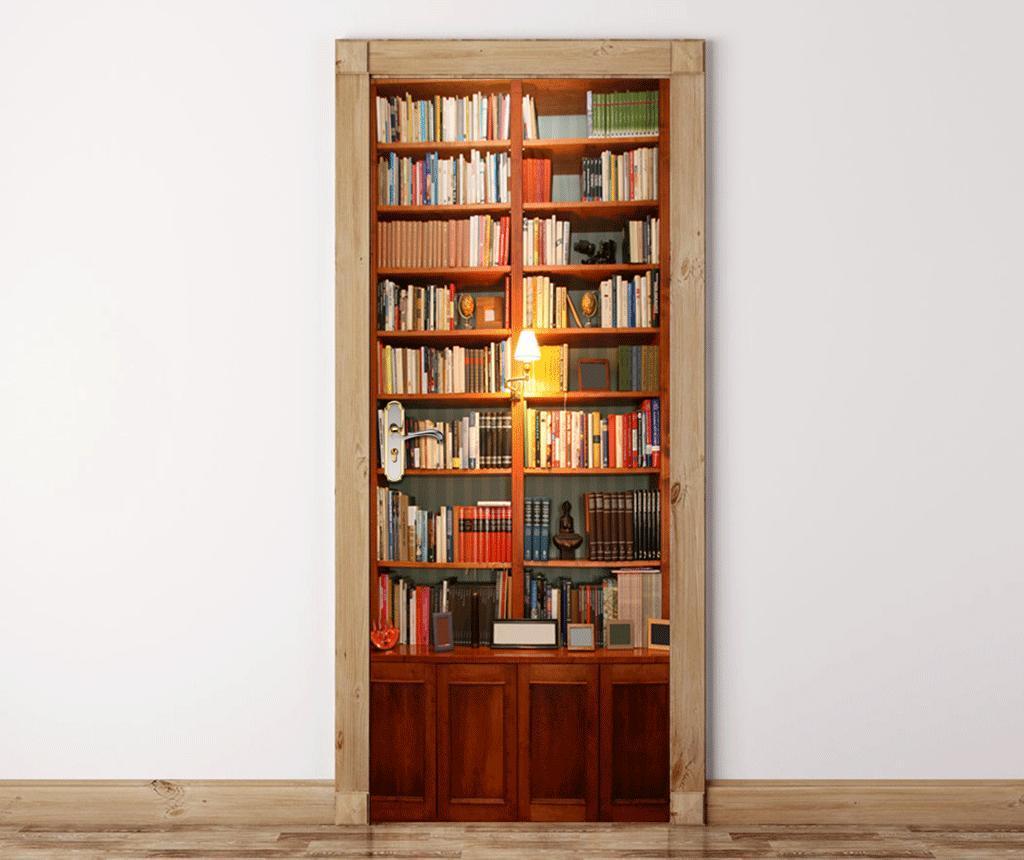 Sticker de usa Vintage Bookcase imagine