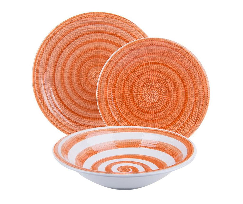 Set de masa 18 piese Old Italy Orange