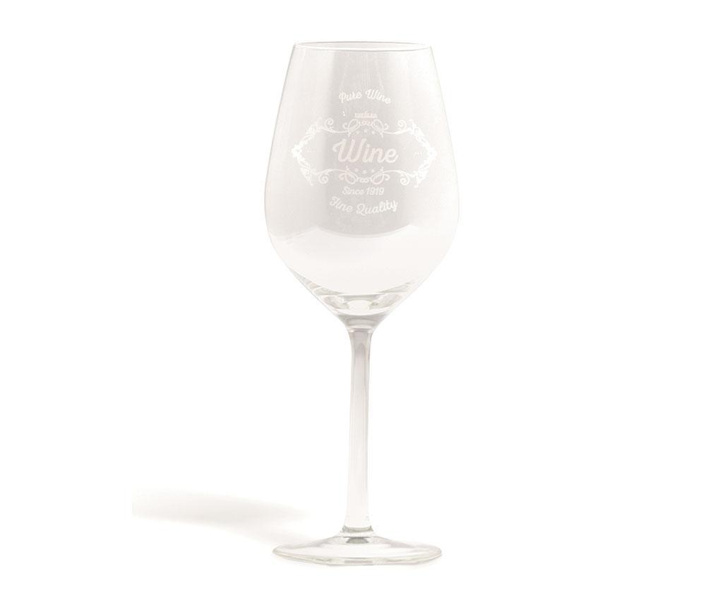 Set 6 pahare pentru vin Pure Vintage 500 ml imagine