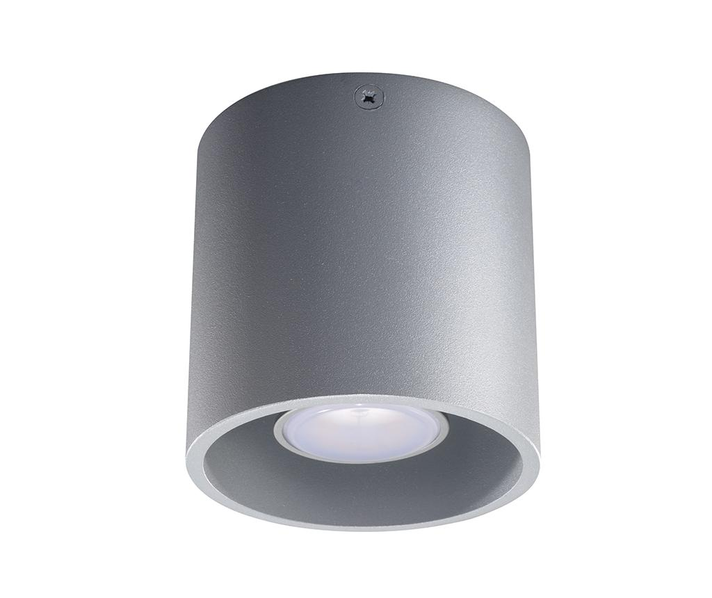 Plafoniera Roda Grey - Nice Lamps, Gri & Argintiu imagine