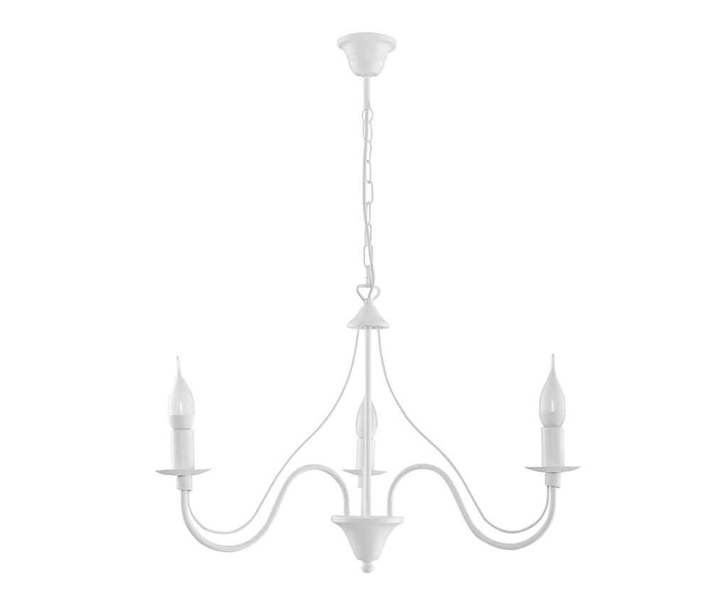 Candelabru Fiorano Three White - Nice Lamps, Alb imagine