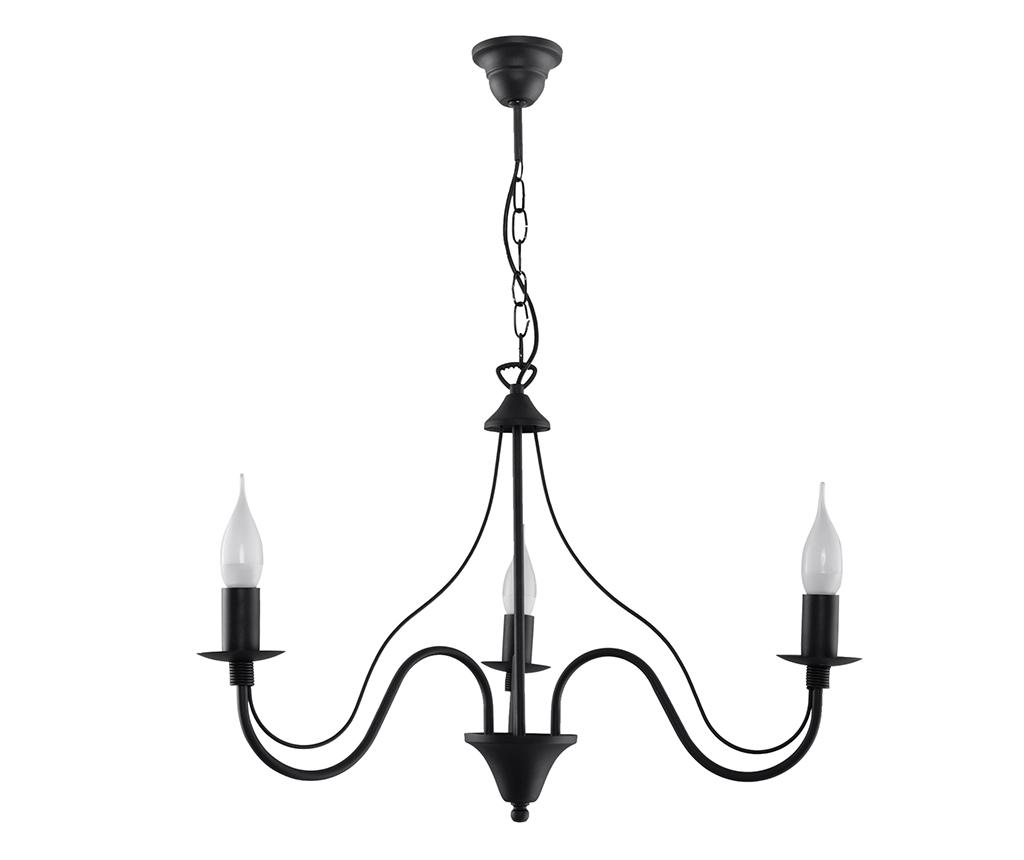 Candelabru Fiorano Three Black imagine