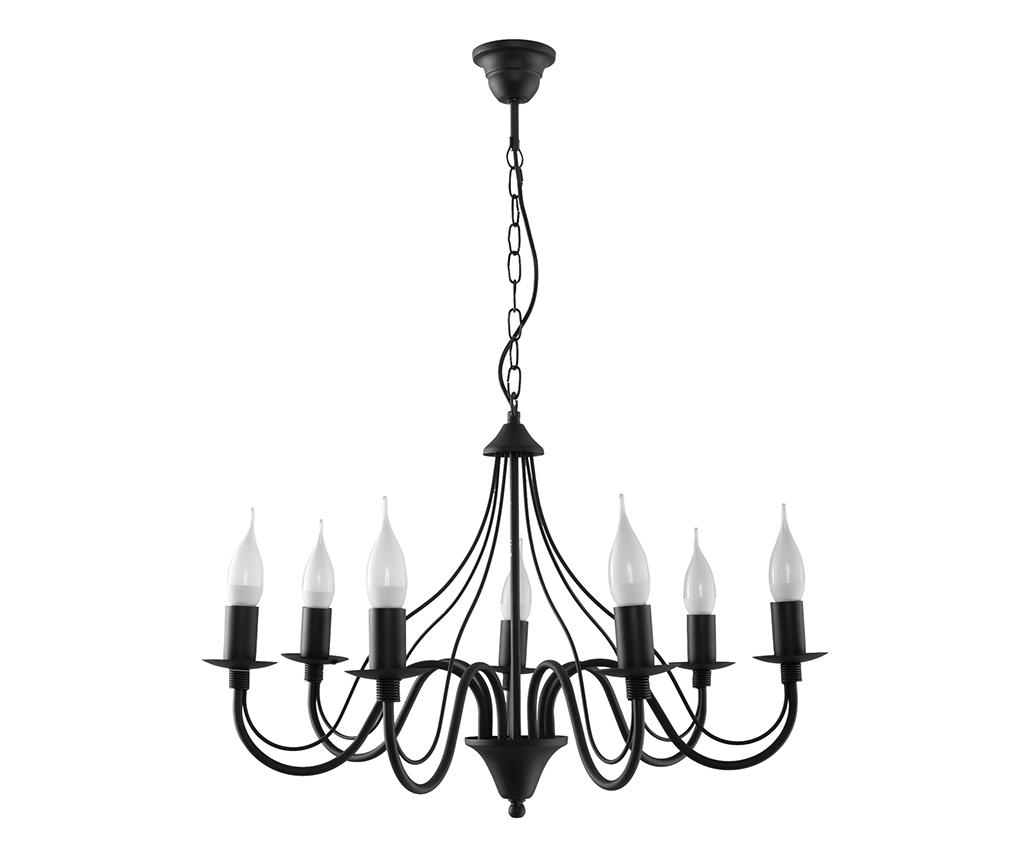 Candelabru Fiorano Black Seven imagine