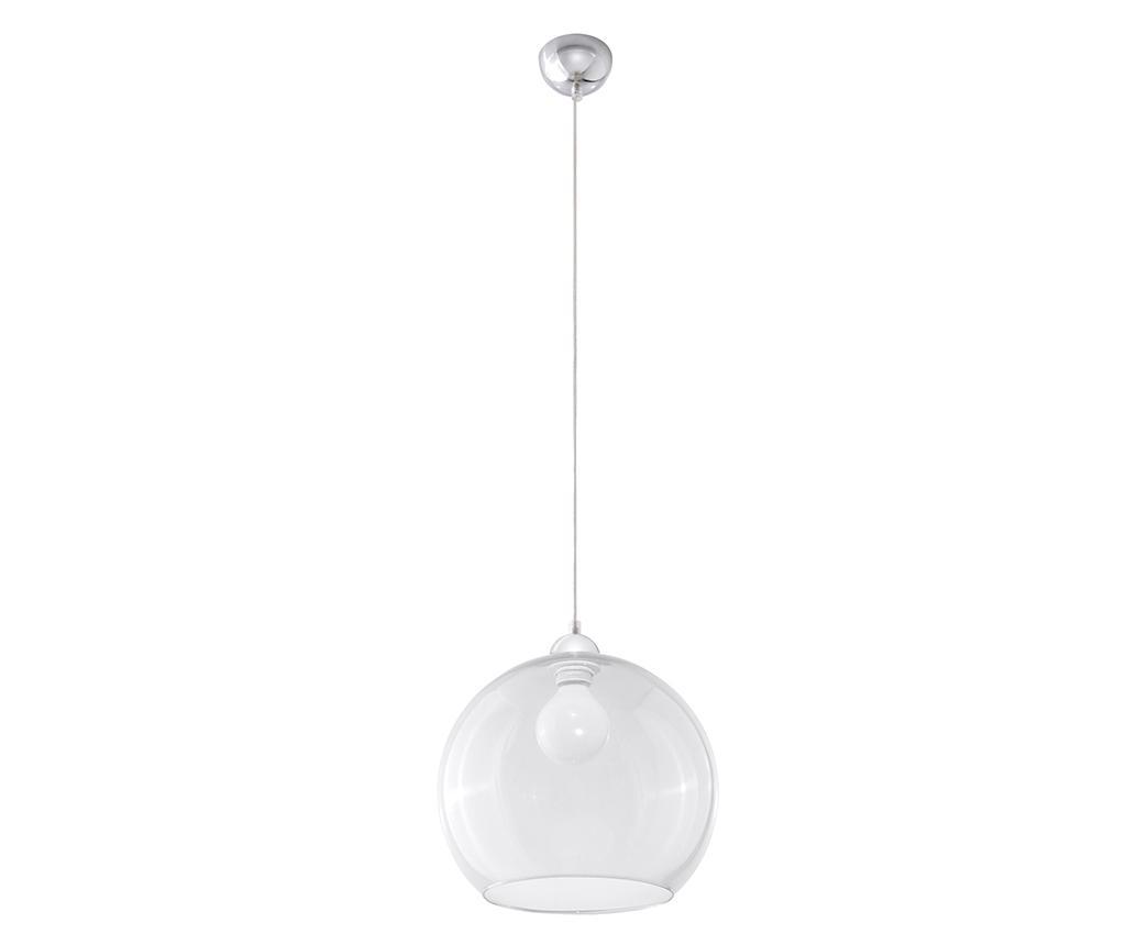Lustra Bilbao Transparent - Nice Lamps, Alb imagine