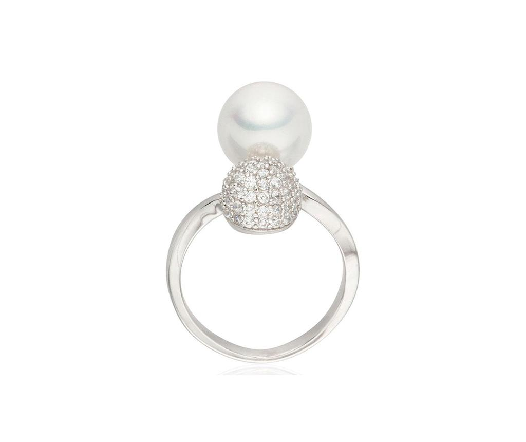 Inel Pearl and Beads 54 mm imagine