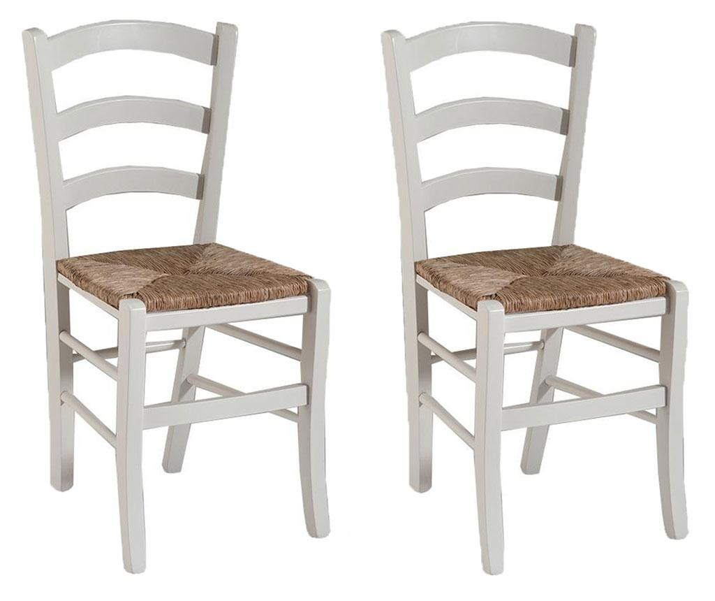 Set 2 scaune Sedy - Castagnetti 1928, Alb vivre.ro