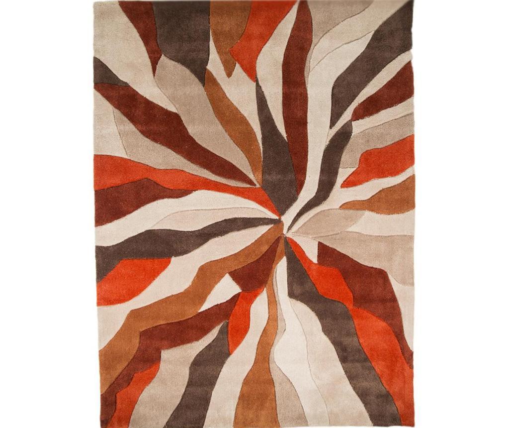 Covor Splinter Orange 120x170 cm - Flair Rugs, Portocaliu imagine