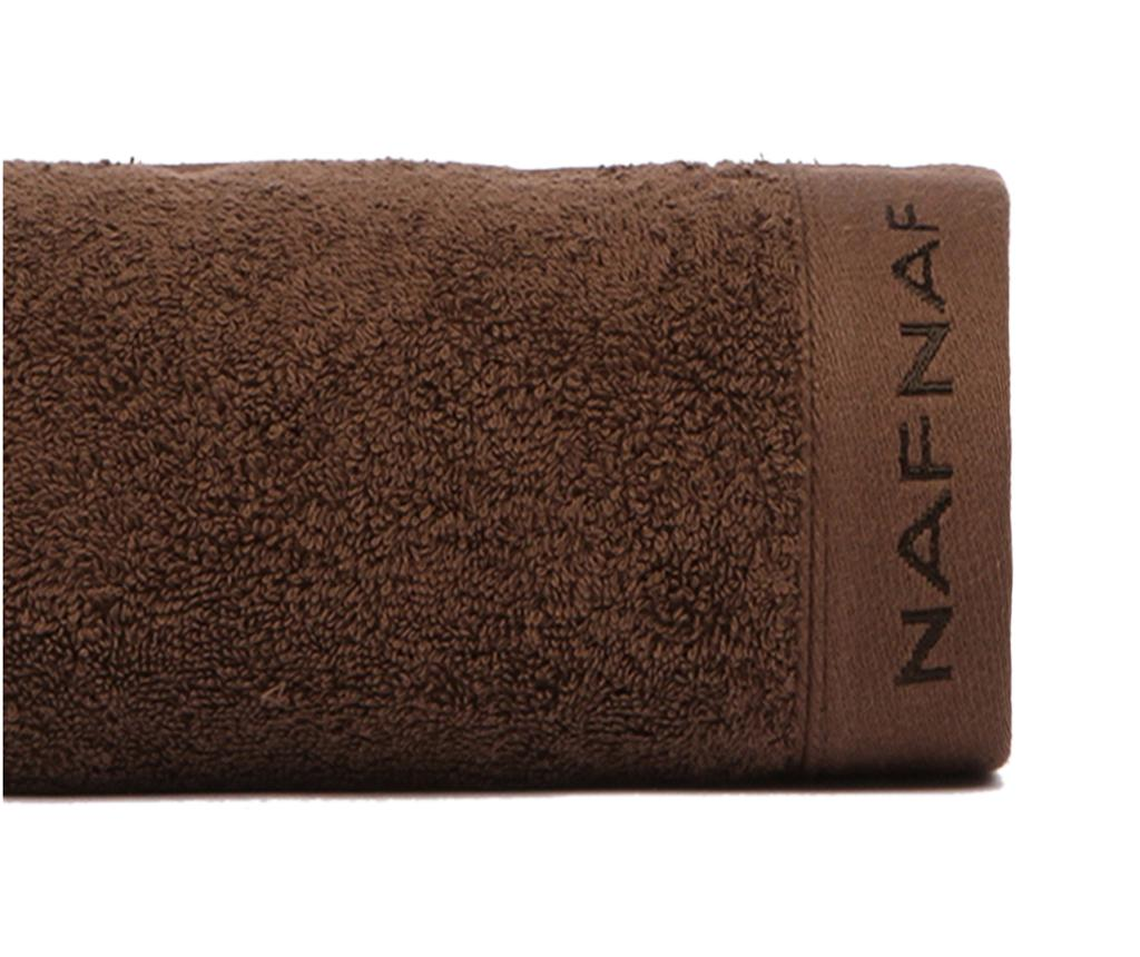 Prosop de baie Casual Chocolate 100x150 cm - NAF NAF poza