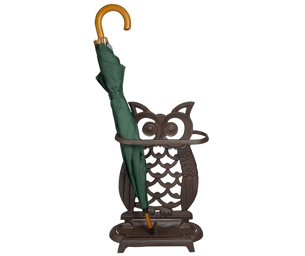 Suport pentru umbrele Owl - Esschert Design, Maro