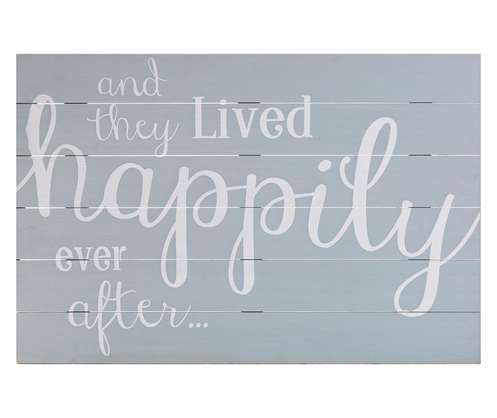 Decoratiune de perete Happily Ever After