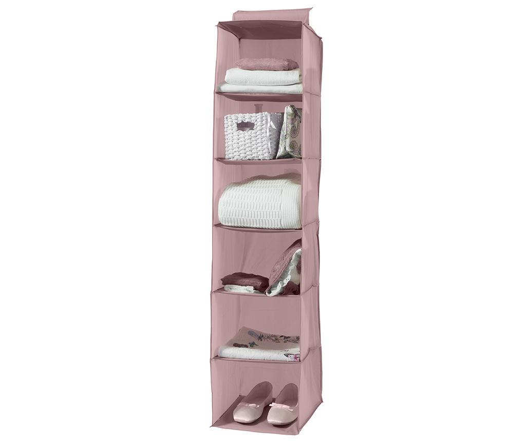 Organizator pentru dulap Copria Scandi Rosa - Compactor, Roz poza