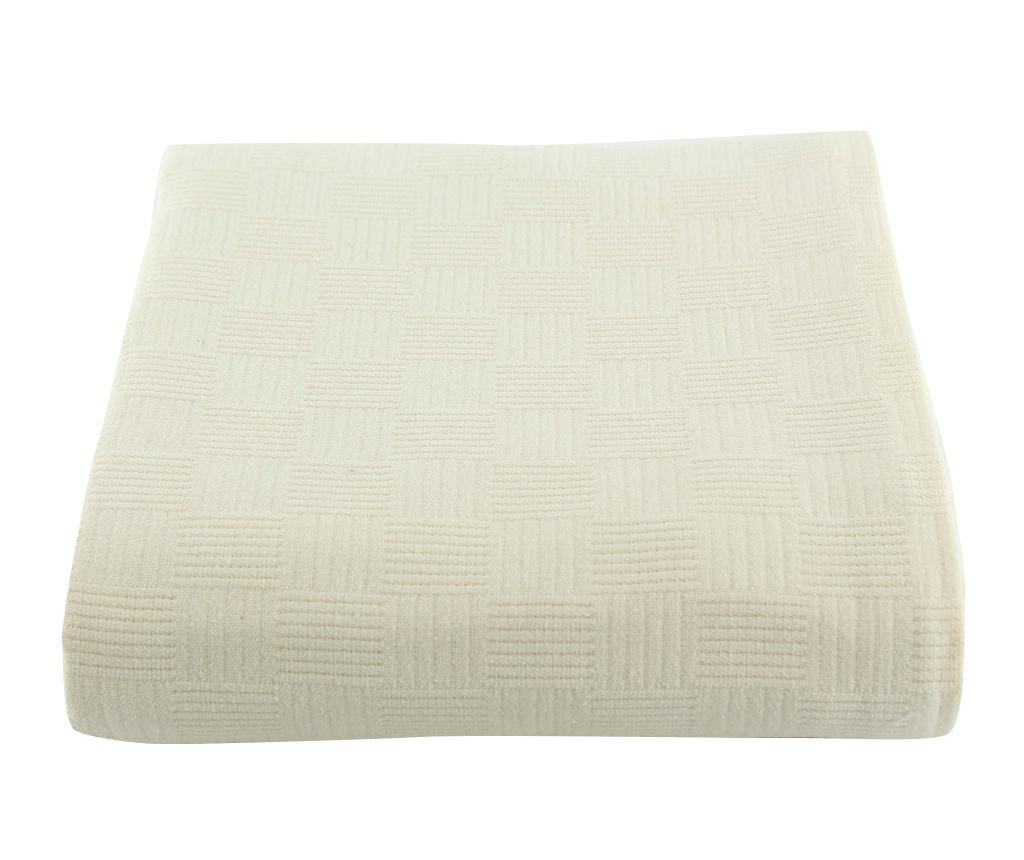 Cuvertura Pique Dante Cream 220x260 cm