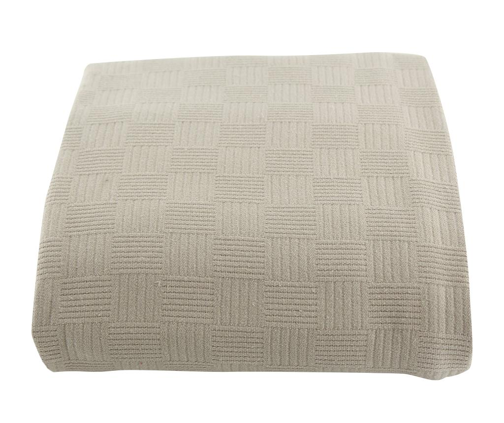 Cuvertura Pique Dante Beige 220x260 cm