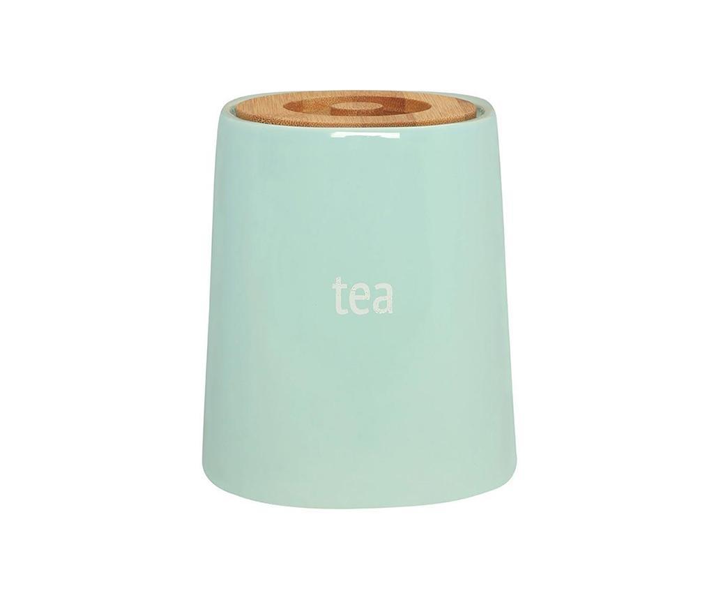 Recipient cu capac pentru ceai Ines Blue 800 ml - Premier, Albastru