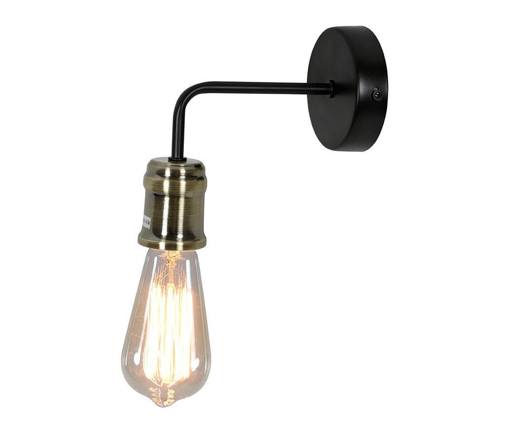 Aplica de perete Goldie - Candellux Lighting, Negru imagine