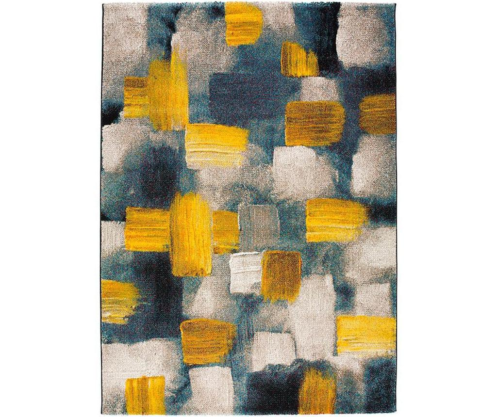 Covor Squares Yellow 140x200 cm - Universal XXI, Galben & Auriu poza
