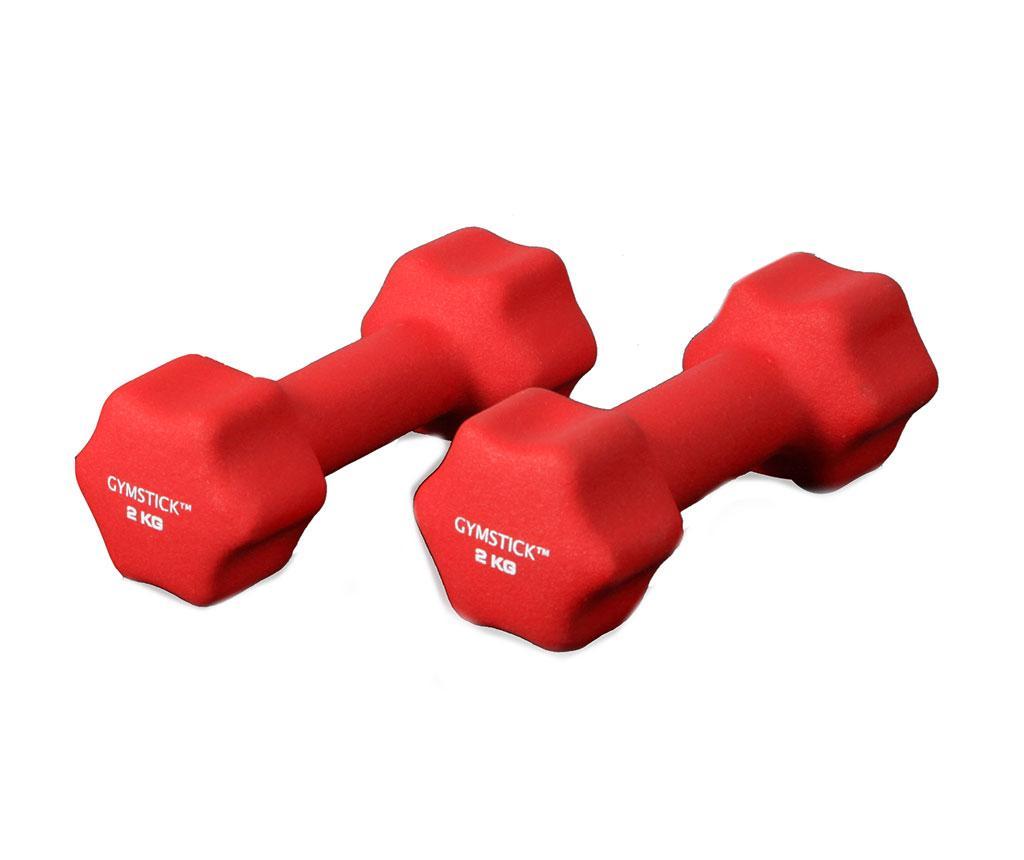 Set 2 gantere Dwali Red 2 kg