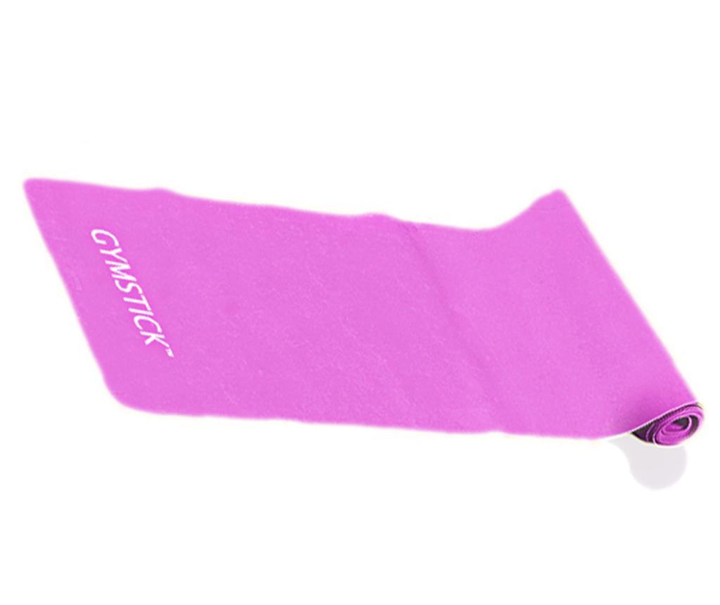 Banda elastica pentru exercitii Emotion Pink 15x120 cm