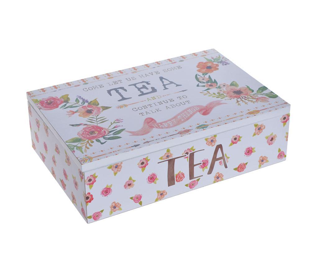 Cutie cu capac pentru ceai Happy Things - EWAX, Multicolor vivre.ro