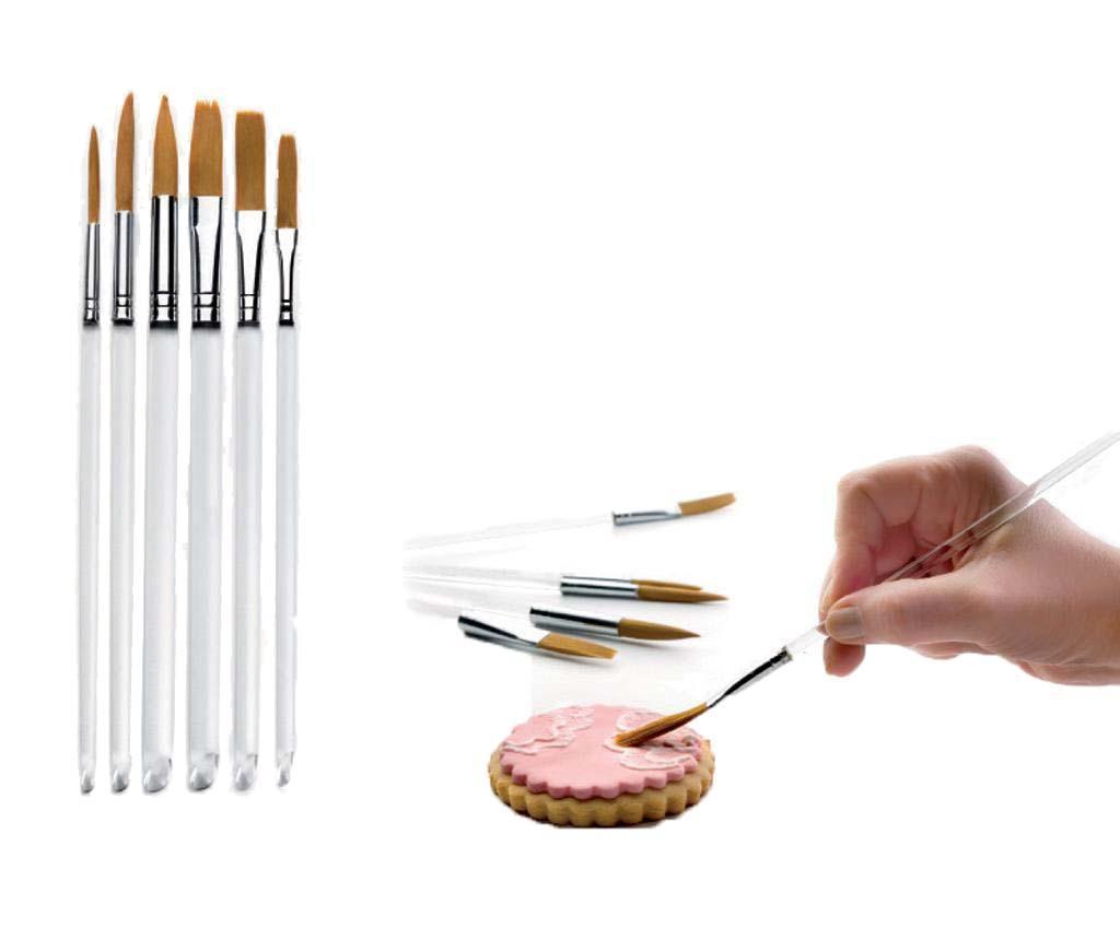 Set 6 pensule de patiserie Glazing imagine