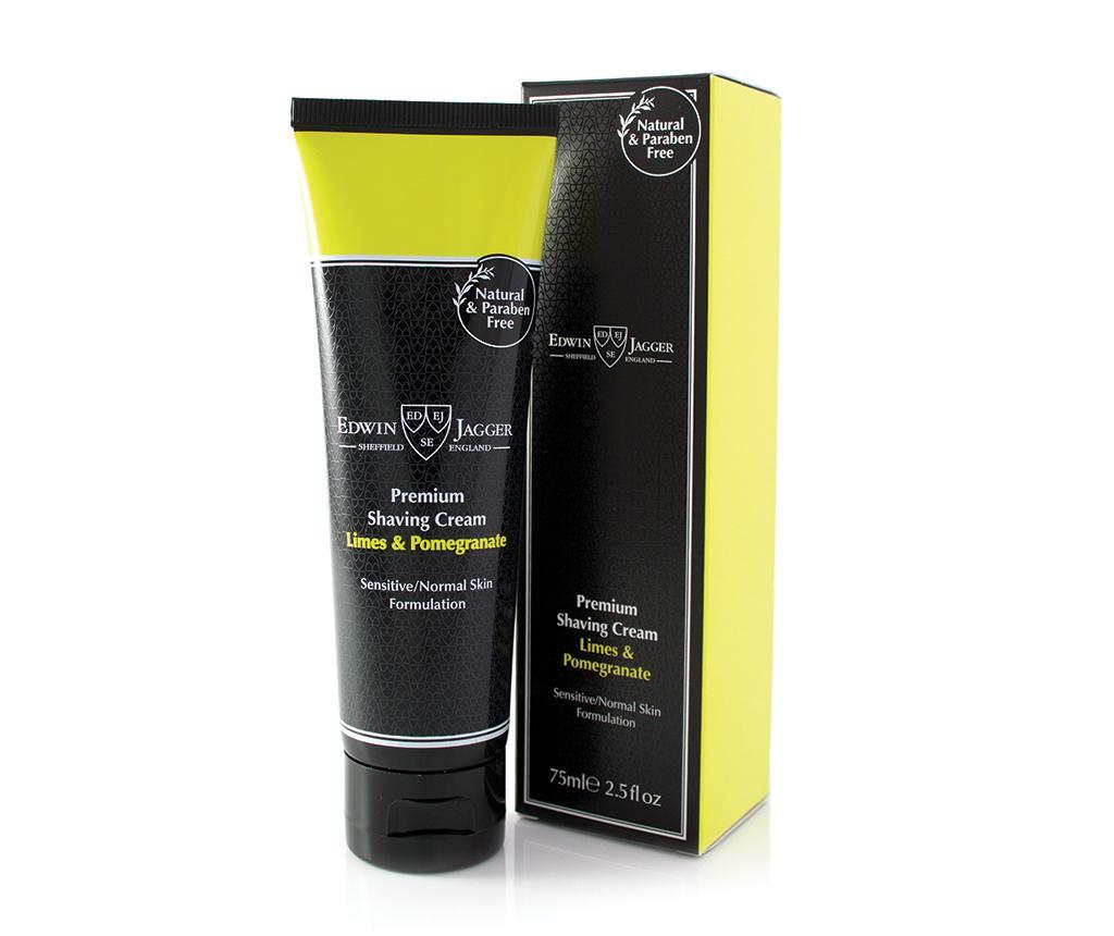 Crema pentru barbierit Limes & Pomegranate 75 ml - Edwin Jagger