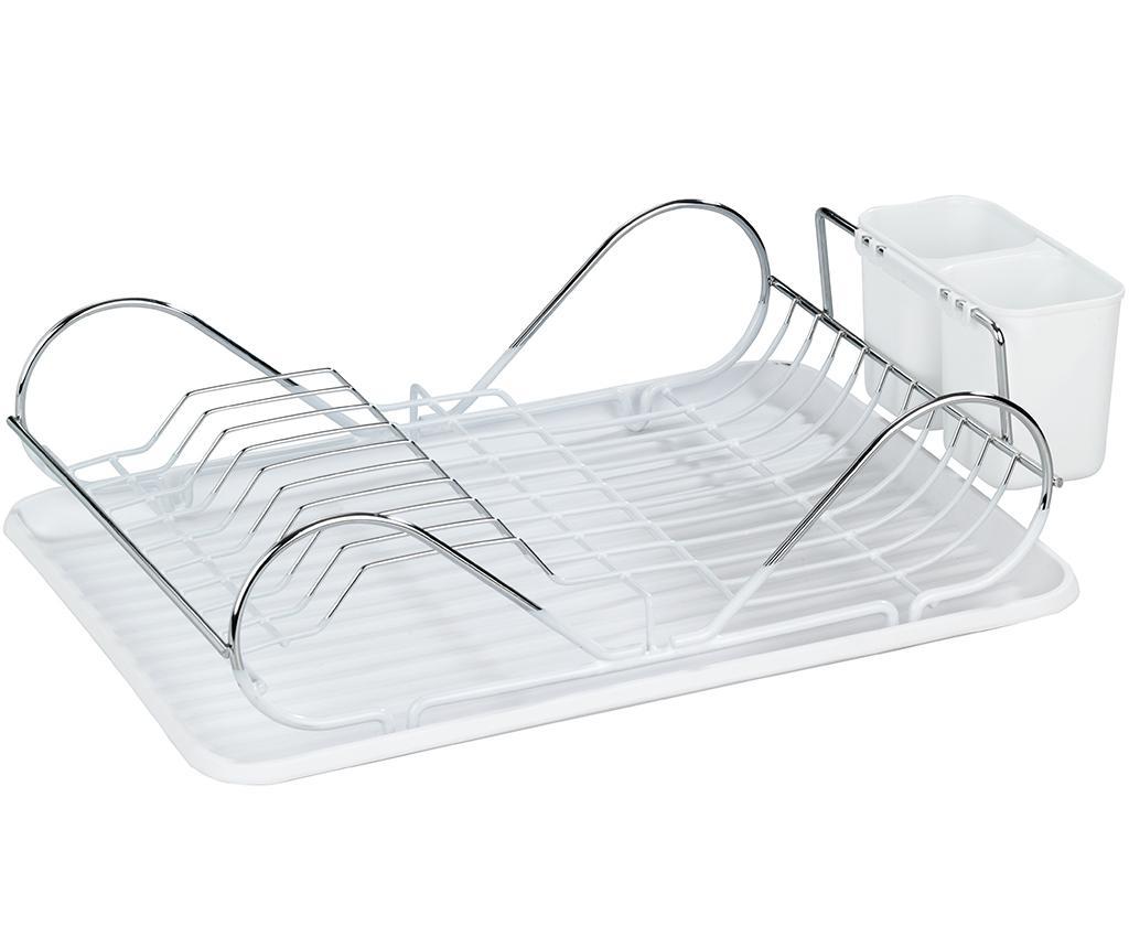 Uscator pentru vase Clean - Wenko, Gri & Argintiu imagine