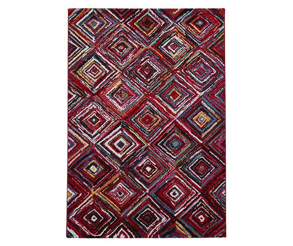 Covor Sunrise Colored 160x220 cm - Think Rugs, Rosu,Multicolor