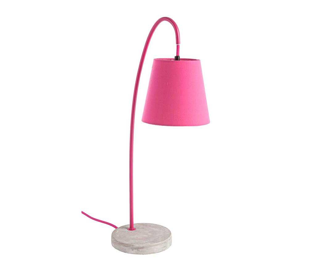 Lampa Parabola Fuchsia - Bizzotto, Roz imagine