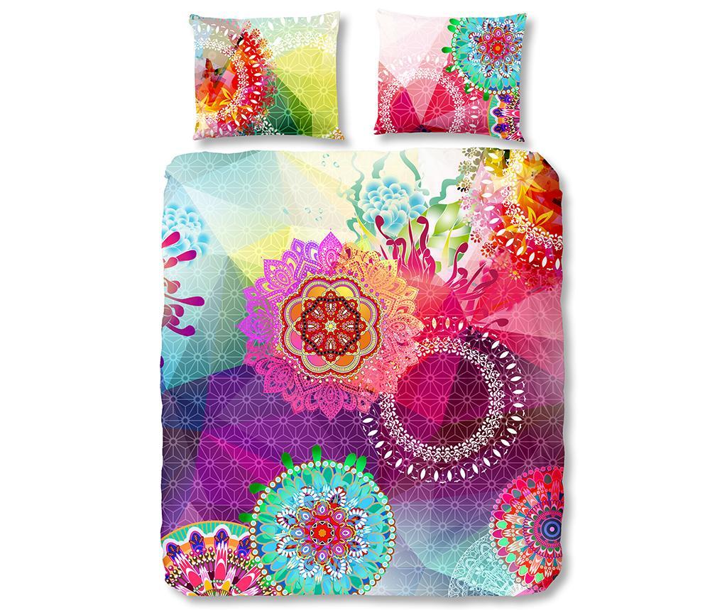 Set de pat King Satin Esplanada - hip, Multicolor imagine