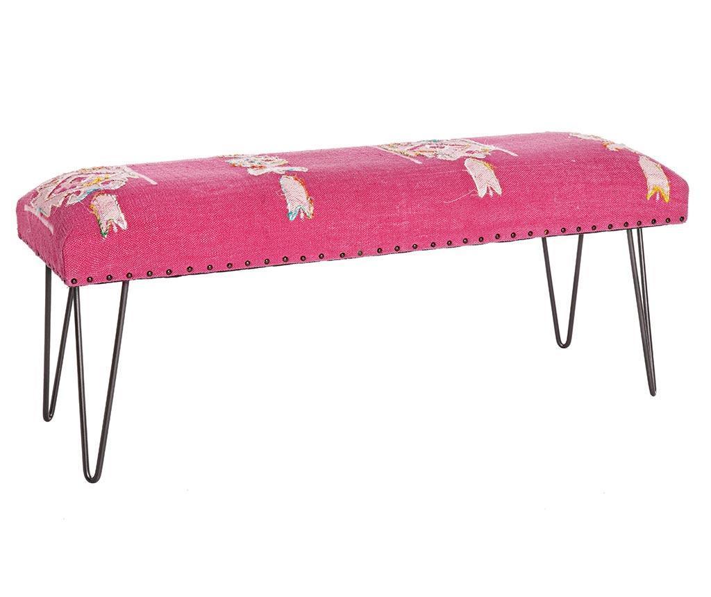 Bancheta Malila Pink - Bizzotto, Roz poza