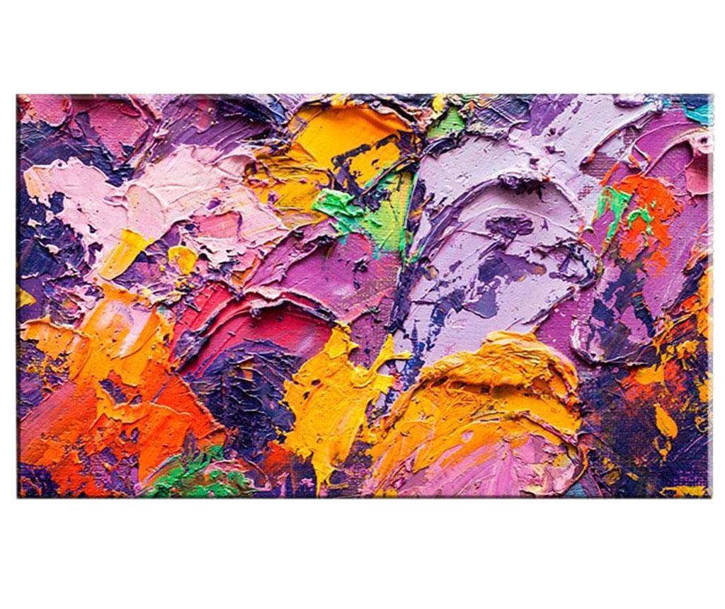 Tablou Colorful Strokes 100x140 cm imagine