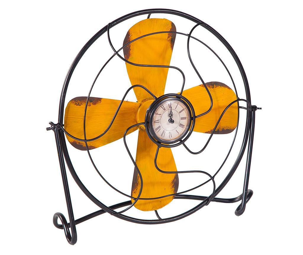 Ceas de masa Milburn - Creaciones Meng, Galben & Auriu