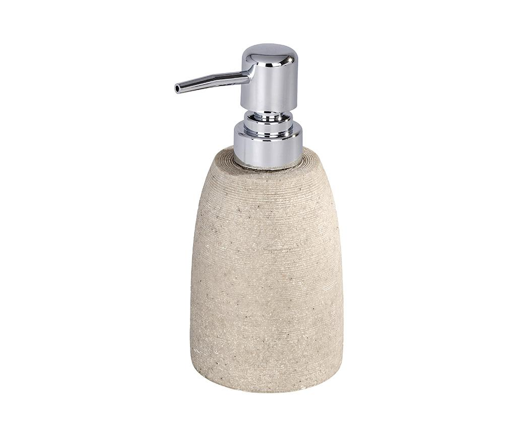 Dispenser sapun lichid Goa Beige 210 ml - Wenko, Crem imagine vivre.ro