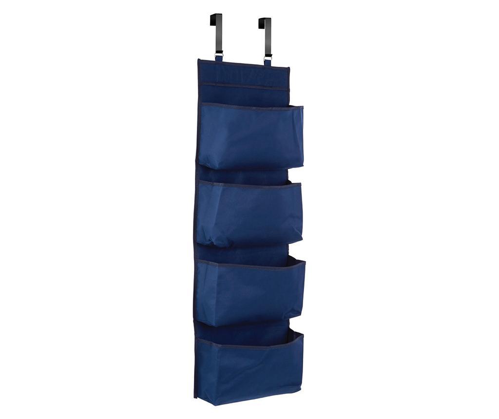 Organizator pentru usa Simple Dark Blue - Premier, Albastru