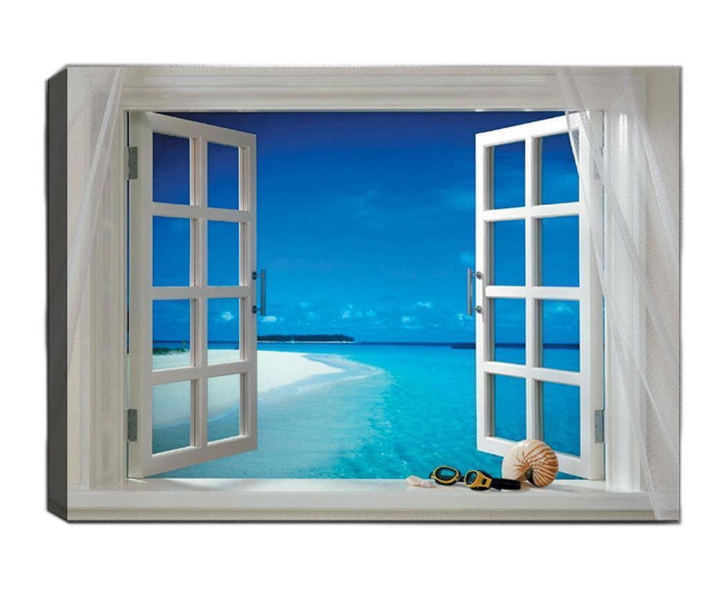 Tablou Open Window 50x70 cm imagine