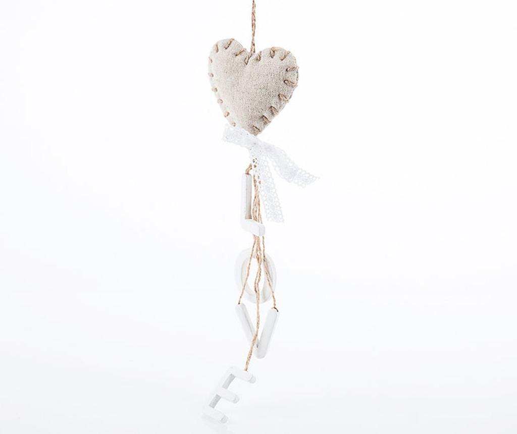 Set 4 decoratiuni suspendabile Magical Heart - Luigi Dal Pozzo