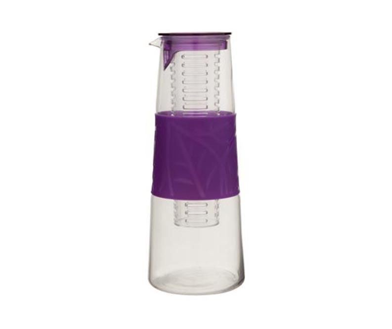 Carafa cu capac si infuzor Eria Purple 1 L imagine