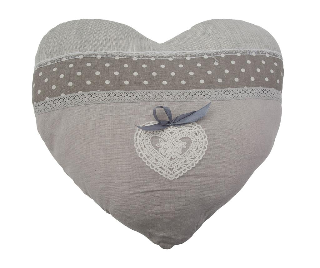 Perna decorativa Heart 40x40 cm